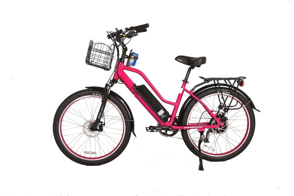 X-Treme Catalina Cruiser eBike Pink l Watt Fleet