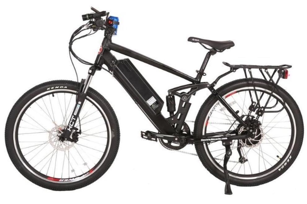 X-Treme Rubicon Mountain eBike Black l Watt Fleet