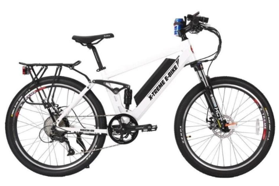 X-Treme Rubicon Mountain eBike White l Watt Fleet