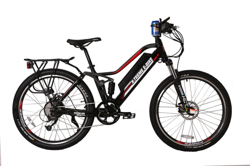 X-Treme Sedona Mountain eBike Black l Watt Fleet