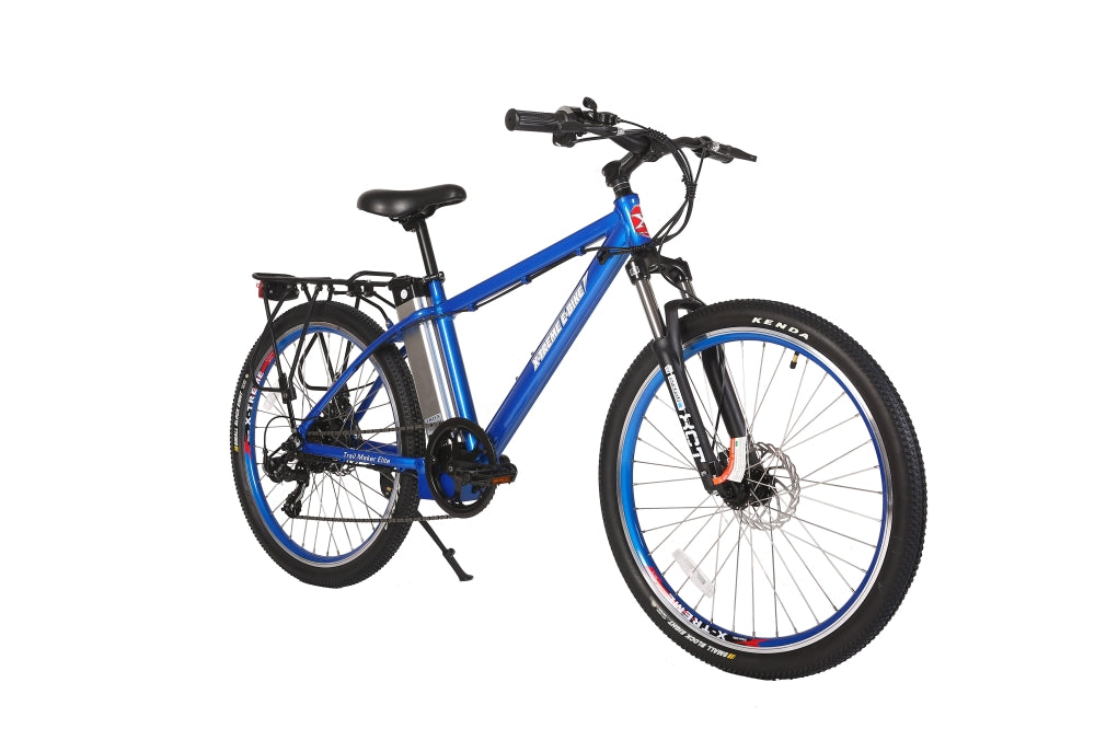 X-Treme Trail Maker Elite eBike Blue l Watt Fleet