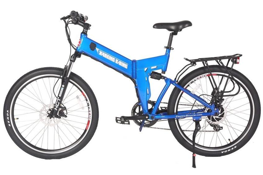 X-Treme X-Cursion Elite Mountain eBike Blue l Watt Fleet