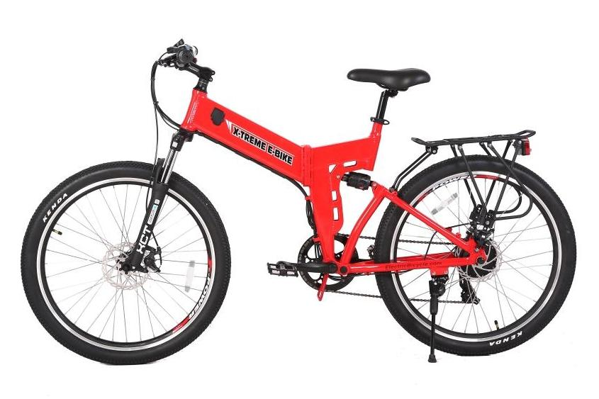 X-Treme X-Cursion Elite Mountain eBike Red l Watt Fleet