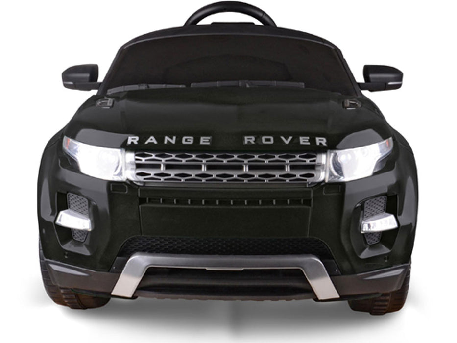 Rastar Land Rover Evoque 12v Kids eRide-on Toy Black l Watt Fleet