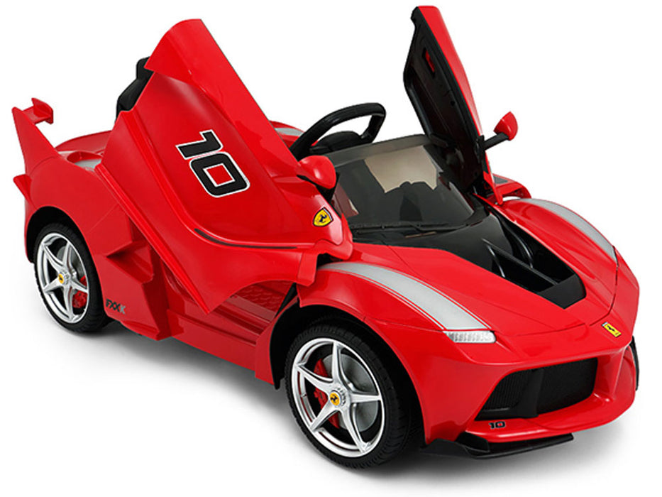 Rastar Ferrari 12v LaFerrari (2.4ghz RC) eRide-on Toy l Watt Fleet