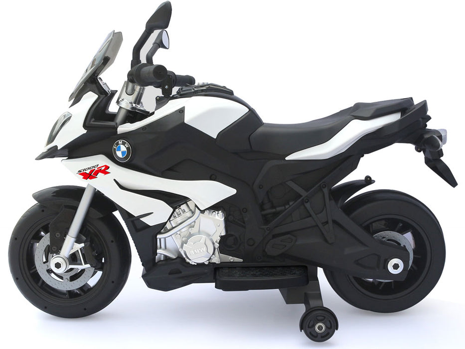 Rastar BMW S1000XR 12v Kids Motorcycle eRide-on Toy White l Watt Fleet