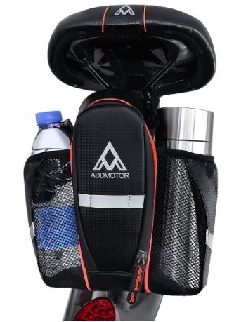 Addmotor Waterproof Saddle Bag with two Bottle Holders l Watt Fleet