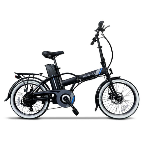 Emojo Crosstown Folding eBike Black l Watt Fleet