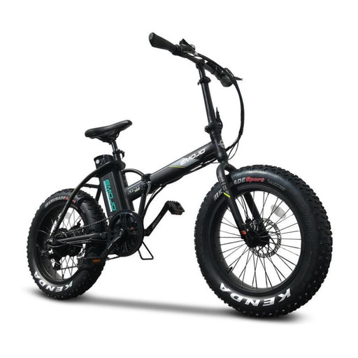 Emojo Lynx PRO Folding Fat Tire eBike Black l Watt Fleet