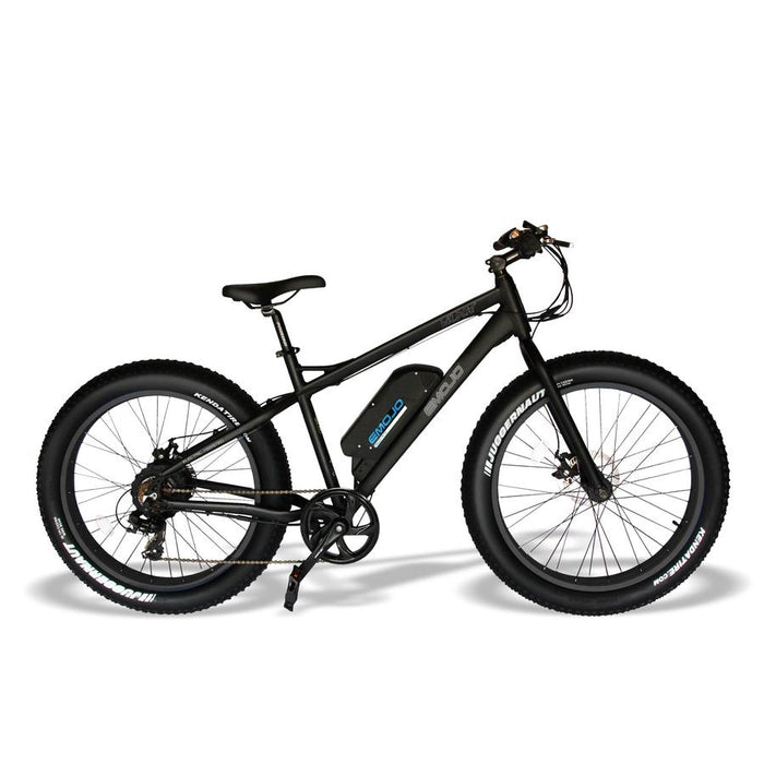 Emojo Wildcat Fat Tire eBike Black l Watt Fleet