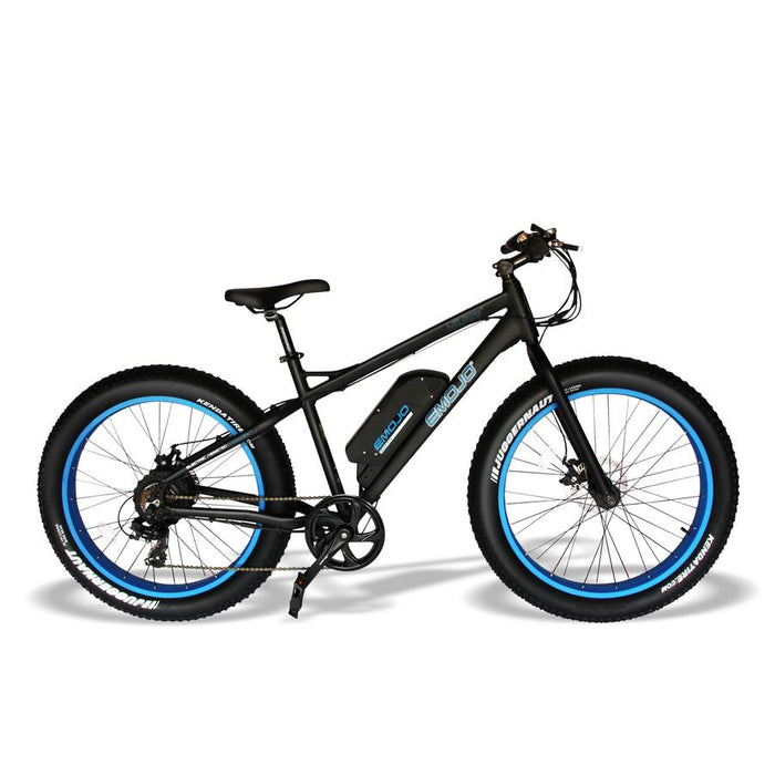 Emojo Wildcat Fat Tire eBike Blue l Watt Fleet