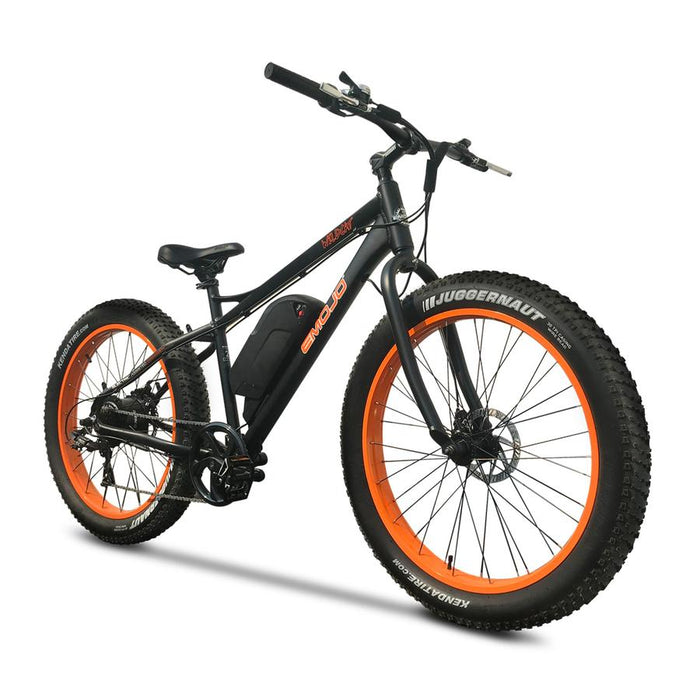Emojo Wildcat Fat Tire eBike Orange l Watt Fleet