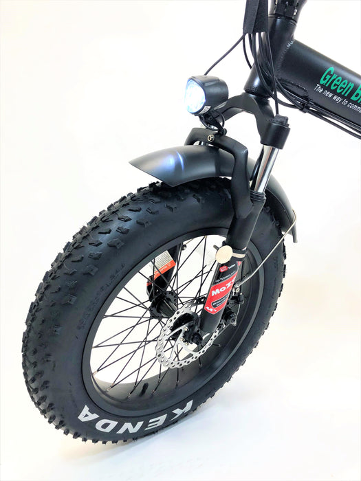 Green Bike USA GB1 Fat Tire eBike Front Tire l Watt Fleet