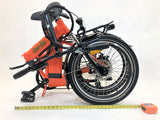 Green Bike USA GB1 Folding eBike Orange l Watt Fleet