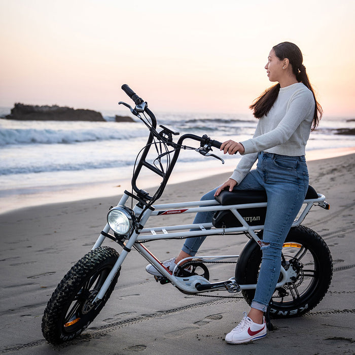 Addmotor Motan M70 Fat Tire 750W Retro Cruiser eBike Beach l Watt Fleet