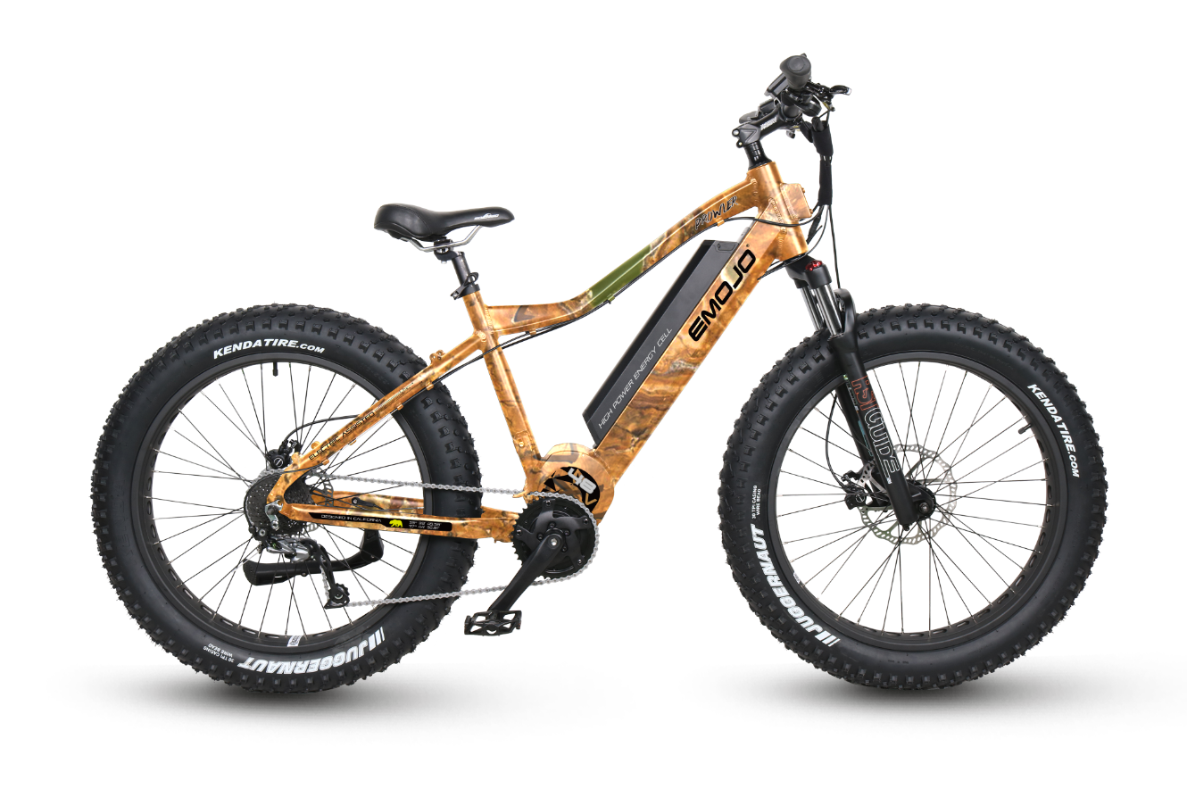Emojo Prowler Suspension eBike Camo l Watt Fleet
