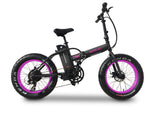 Emojo Lynx Folding Fat Tire eBike Purple l Watt Fleet