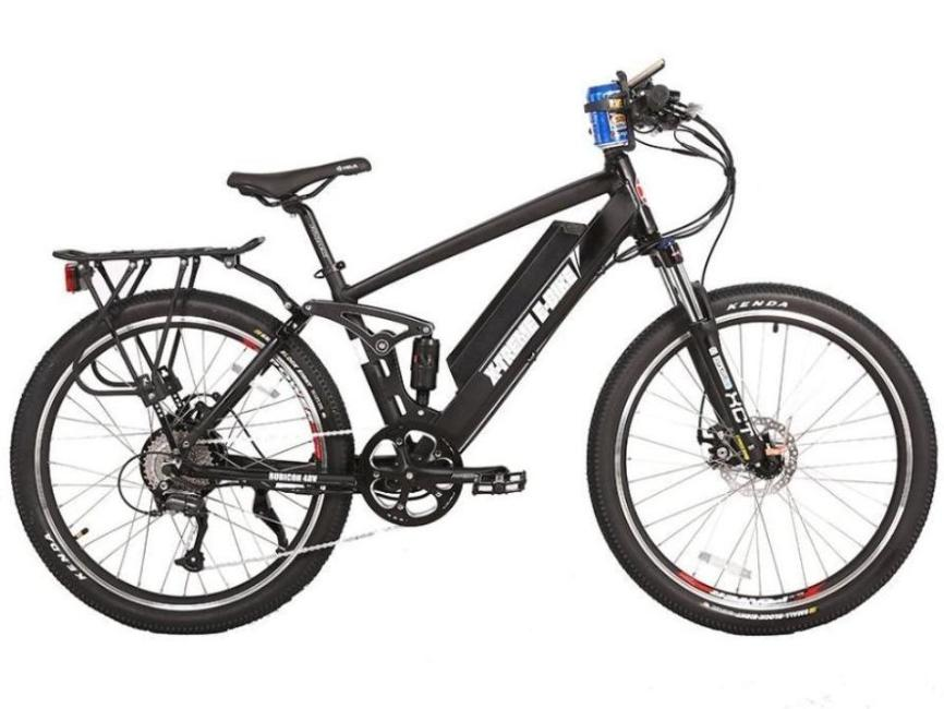 X-Treme Rubicon 500W 48V Mountain eBike Black l Watt Fleet