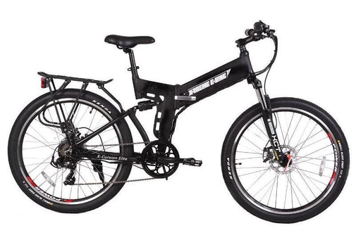 X-Treme X-Cursion Elite Mountain eBike Black l Watt Fleet