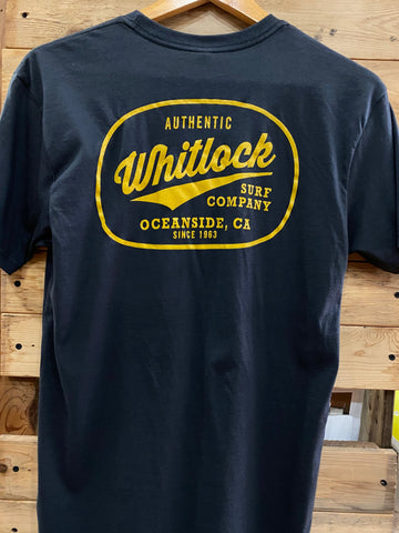 Whitlock Men's Authentic Logo Tee's