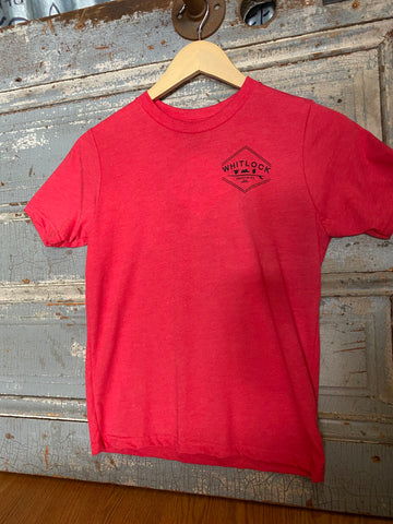 Youth Whitlock Industries -  Red/Black