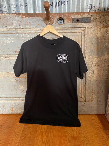 Whitlock Authentic Tee - Black/White