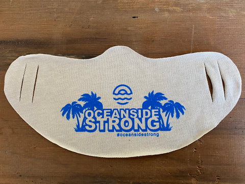 Oceanside Strong Daily Face Mask