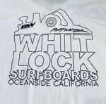 Whitlock Men's Surfboard Factory Logo Tee's