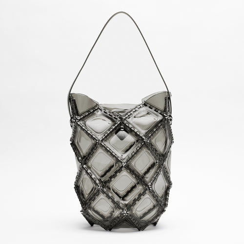 ASTERISK BASKET(Light gray)