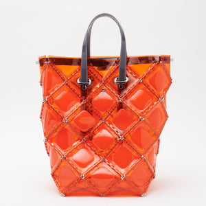 X-DOTS Bucket Tote(Orange)