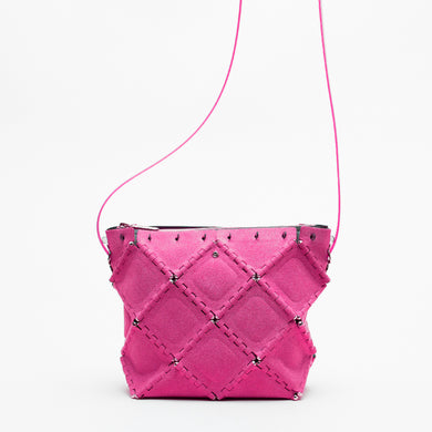 X SUEDE SHOULDER(Pink)