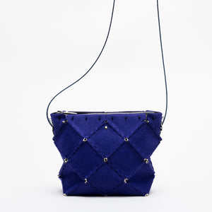 X SUEDE SHOULDER(Purple)