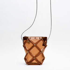 X MINI SHOULDER(Brown)