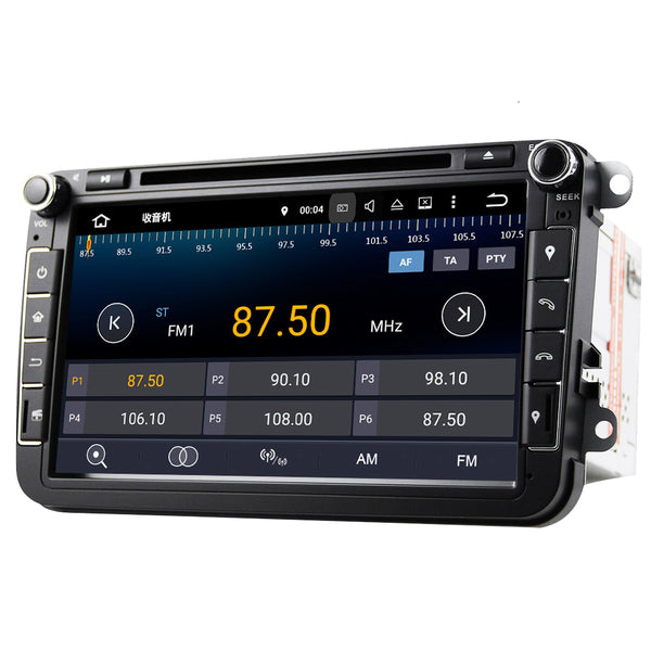 SYSTEME AUDIO ANDROID POUR VW Passat CC Polo GOLF 5 6 Touran EOS T5 Sharan Jetta Tiguan
