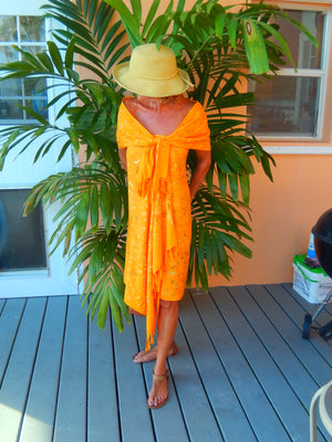 Two Piece Sarong Set