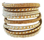Sparkle Wrap Bracelet -Natural