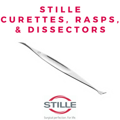 Stille Curettes, Rasps, & Dissesctors
