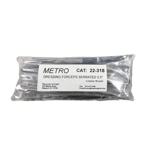 Bag of 10 Metro Disposable Dressing Forceps