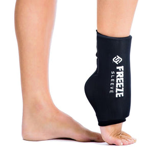 Freeze Sleeve on ankle