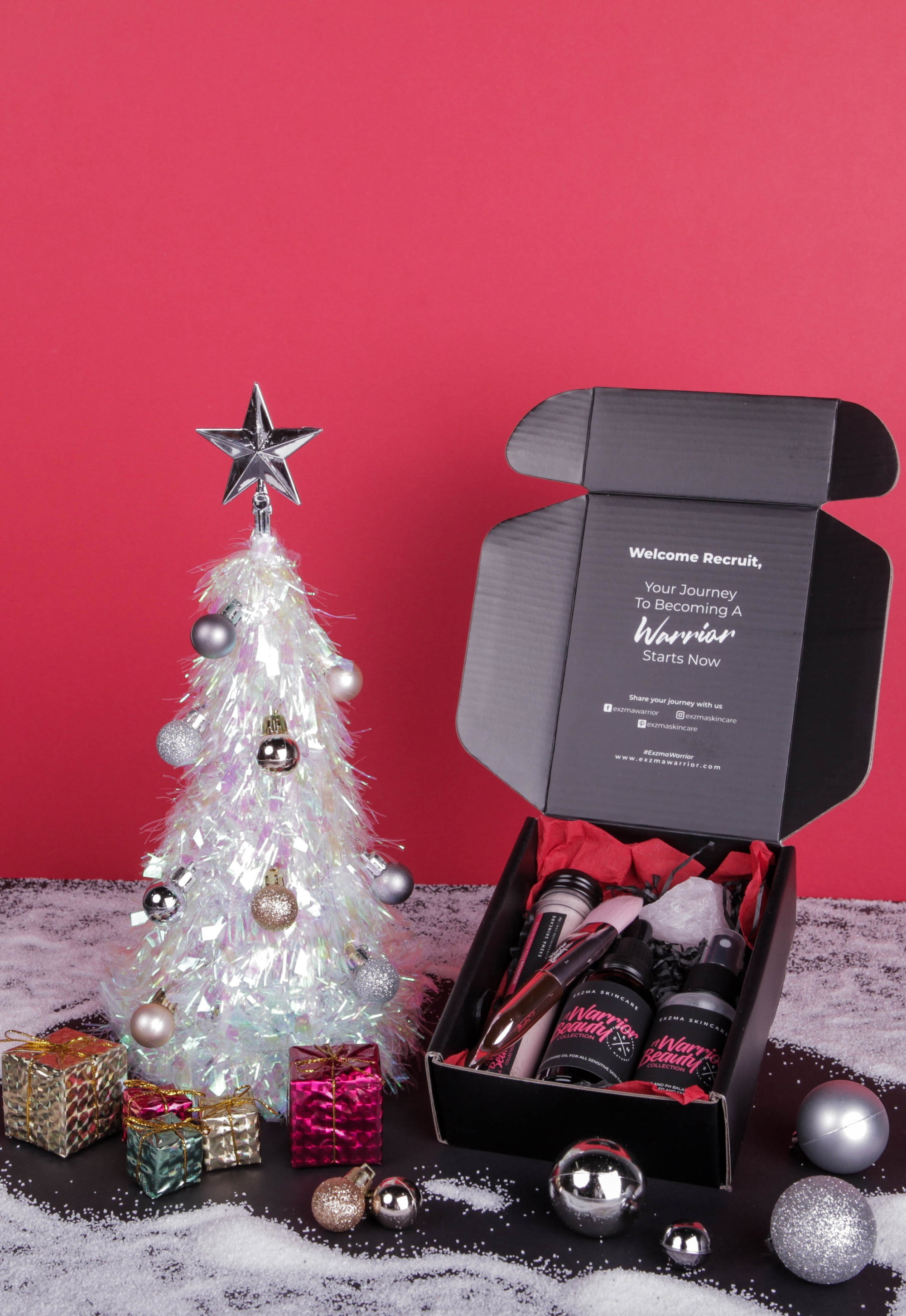 A WARRIOR BEAUTY COLLECTION <br>CHRISTMAS BUNDLE