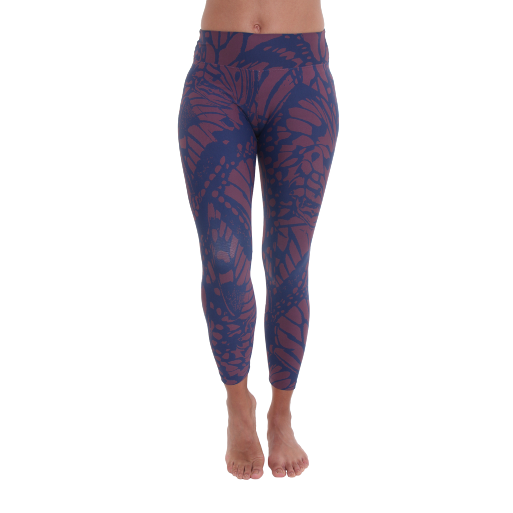 7/8 Legging Monarch Wings