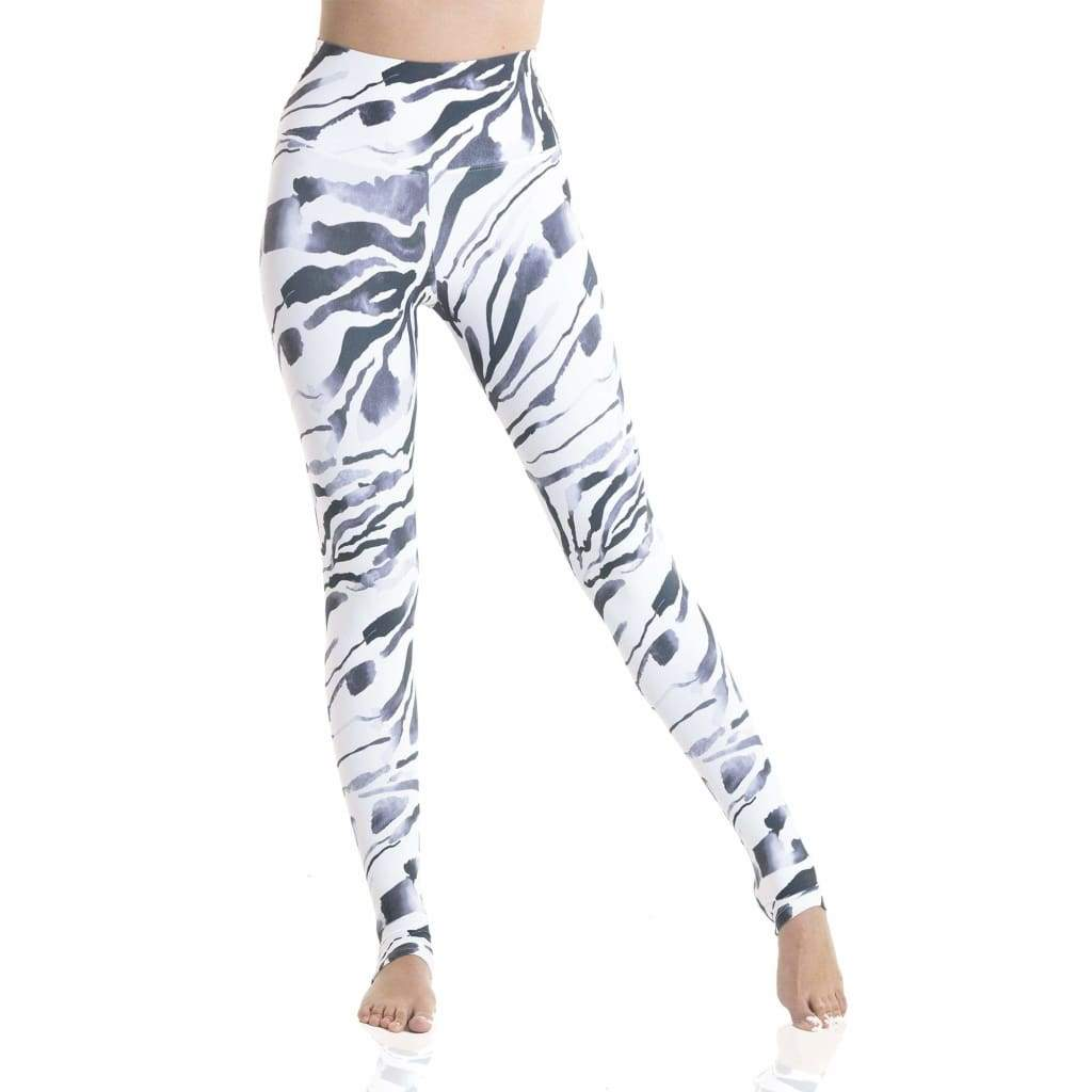 Ultra High-Waist Eco Legging Zebra