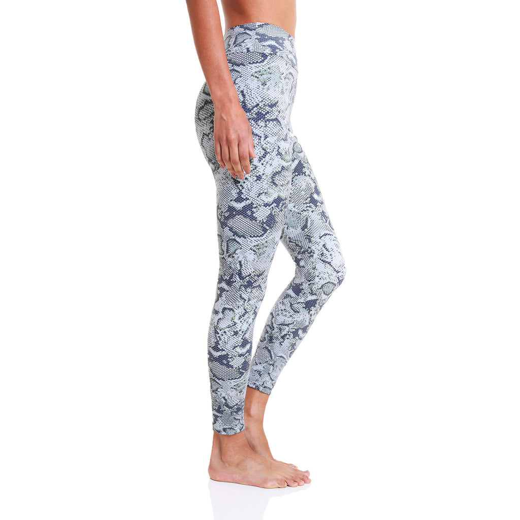Legging 7/8 Eco Green Anaconda