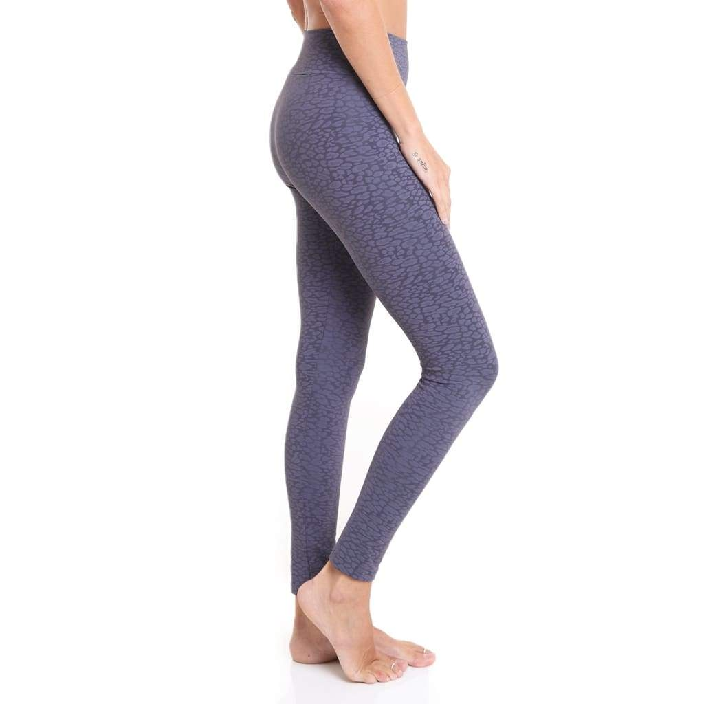 Jacquard Legging Dark Grey