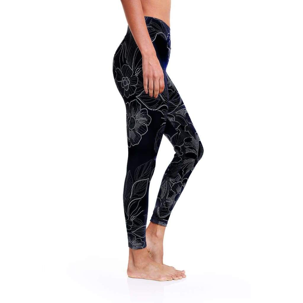 Legging 7/8 Eco Supernatural Blossom