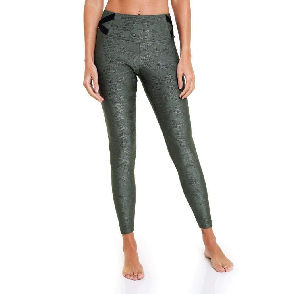 Legging Urban Green Camouflage