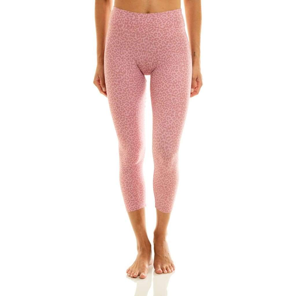 7/8 Eco Legging Pink Cheetah