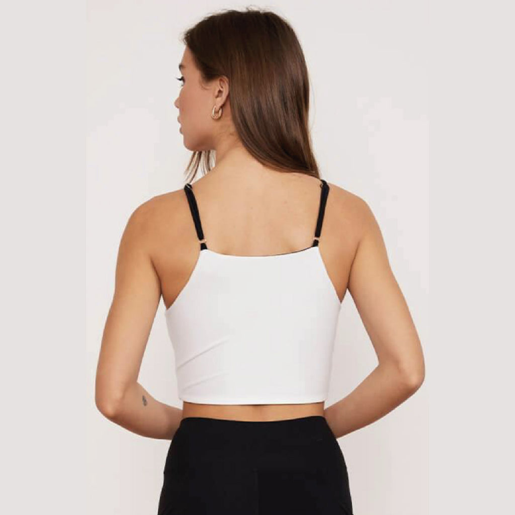 Peto Crisscross 4-Way Top Onyx