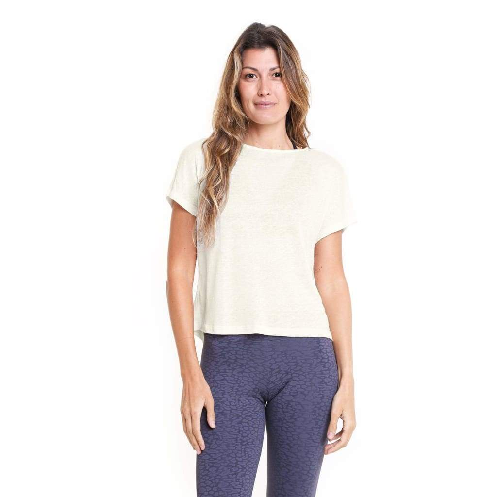 Lucy Crop Top Cream