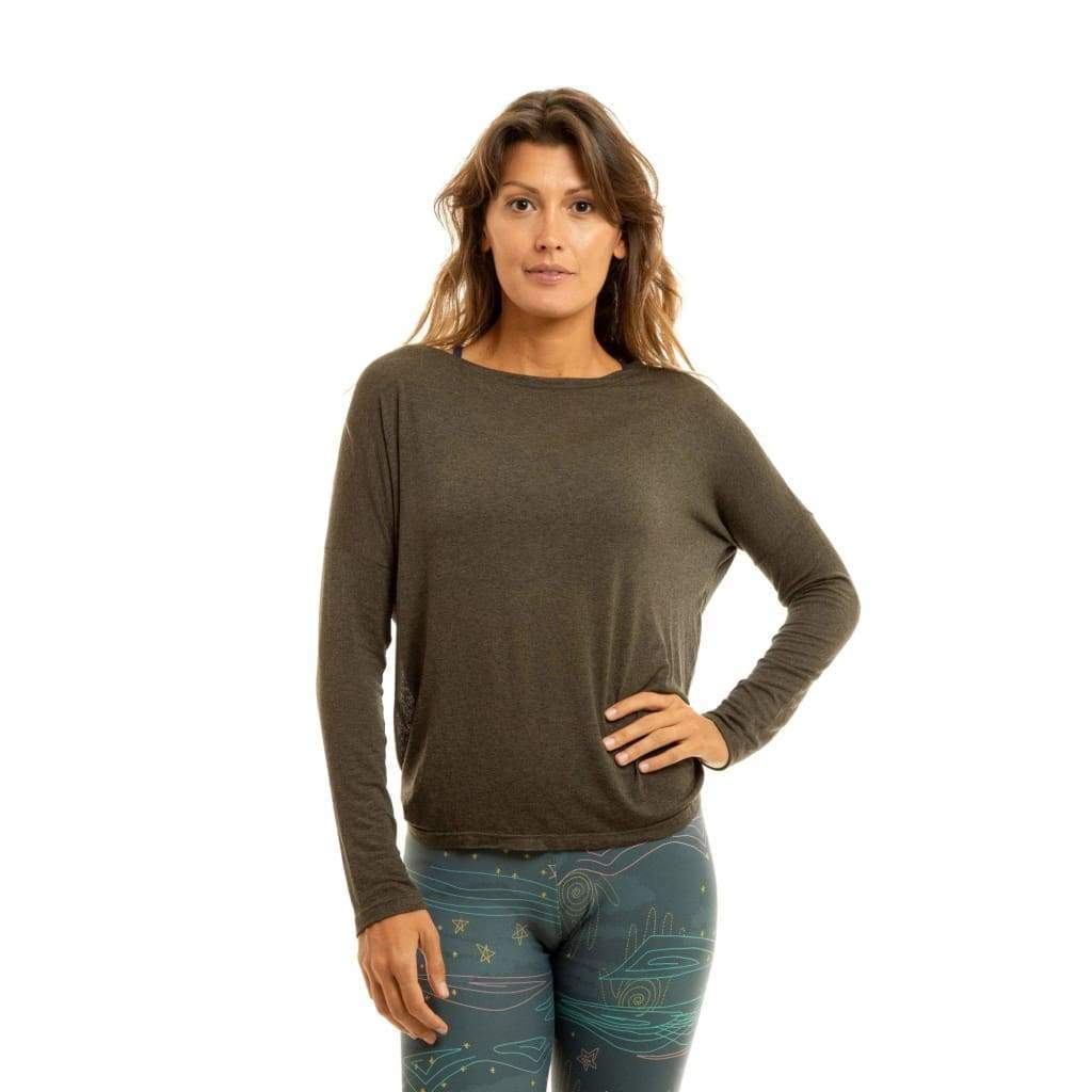 Twist And Shout Long Sleeve Olive